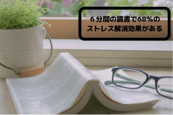 読書のストレス軽減効果