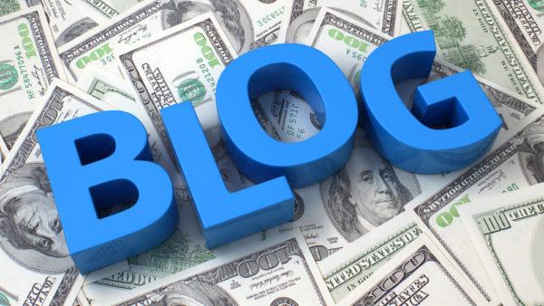 ブログで収入を得るイメージ画像