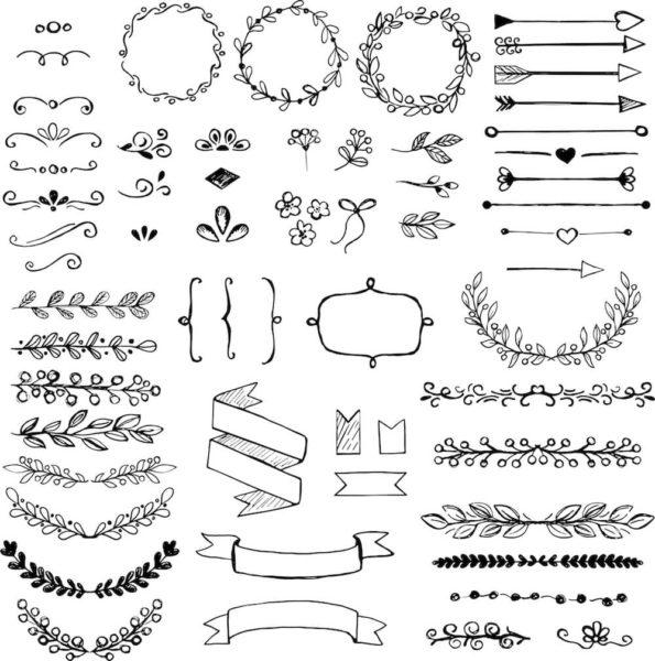 文字装飾のイメージ