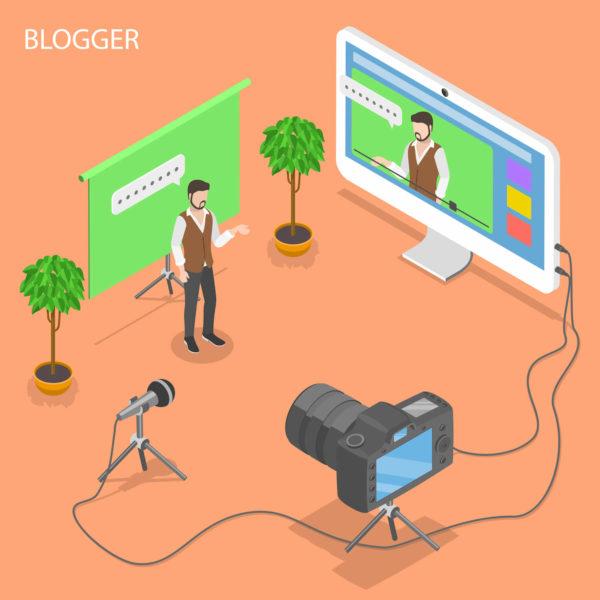 好きなことをブログに書くイメージ