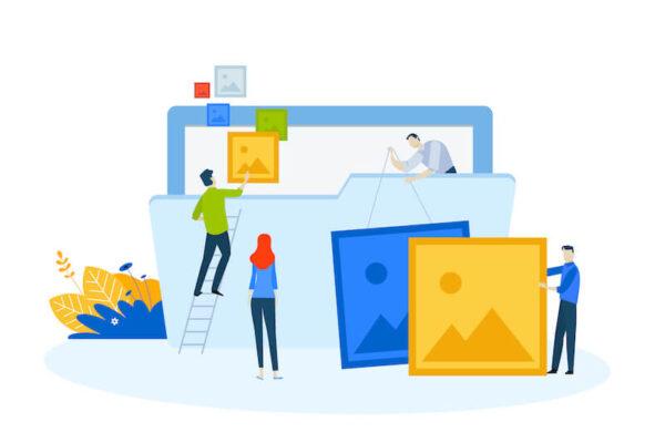 Webの画像のイメージ