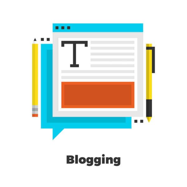 ブログ記事のイメージイラスト