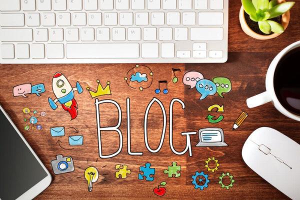 ブログの書き方のイメージイラスト