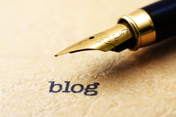 ブログ記事作成のイメージ