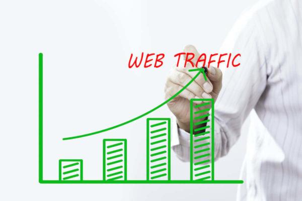 ブログのアクセス数のイメージ