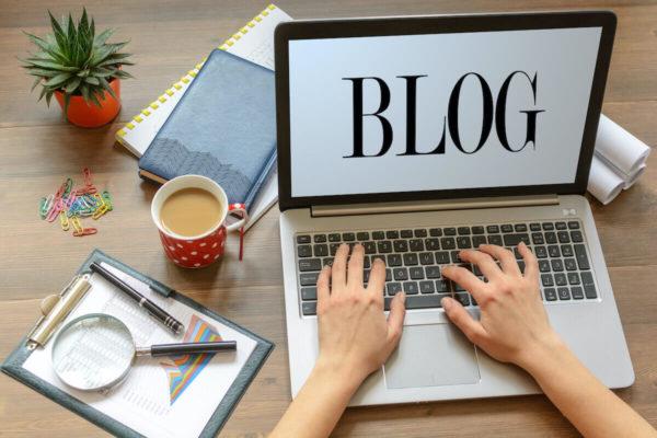ブログを書く人のイメージ