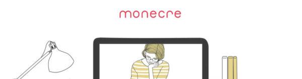 monecreのトップページ