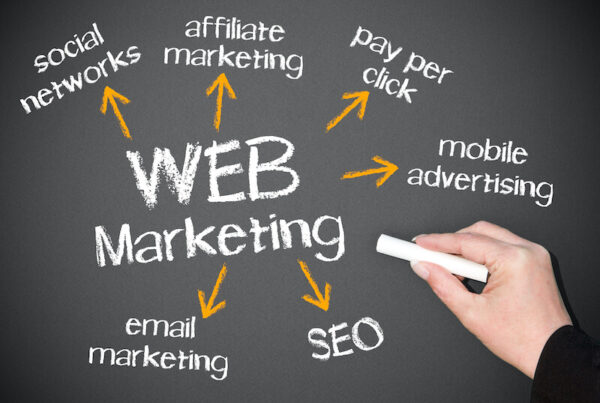 Webマーケティングのイメージ画像