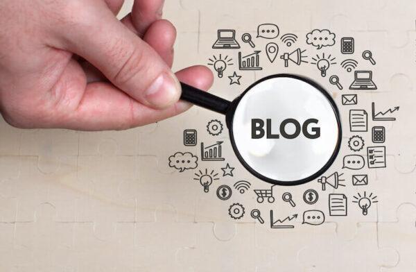 ブログにアクセスが集まるイメージ画像