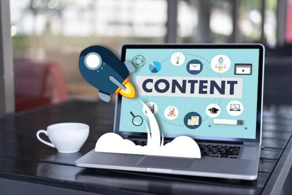 ブログコンテンツを更新するイメージ画像